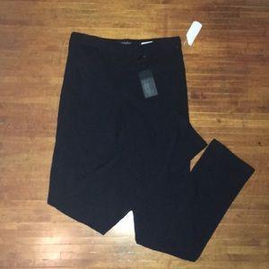 NYDJ black stretchy jeggings/slacks
